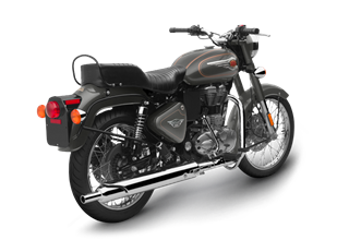 Bullet 500 Anthena Grey