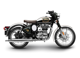 Classic 500 Chrome Green