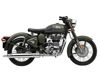 Classic 500 Battle Green
